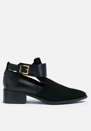 Vero Moda Denise Leather Boot Black