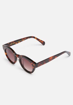 Pieces Gaya Eyewear Brown & Black