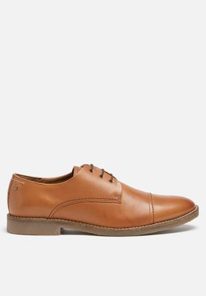 Jack & Jones Footwear & Accessories Billy Leather Shoe Cognac