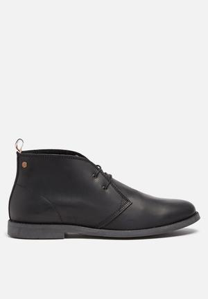 Jack & Jones Footwear & Accessories Walpha Leather Chukka Boot Black