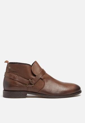Jack & Jones Footwear & Accessories Manson Leather Short Boot Brown