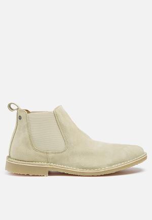 Jack & Jones Footwear & Accessories Leo Suede Boots  Taupe