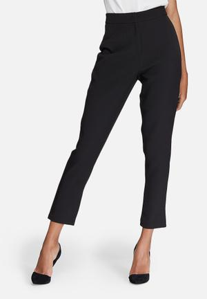 Missguided Tailored Cigarette Trousers Black