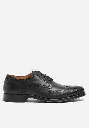 Selected Homme Oliver Brogue Formal Shoes Black