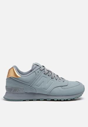 New Balance  WL574MTA Sneakers Frozen Metallic & Grey