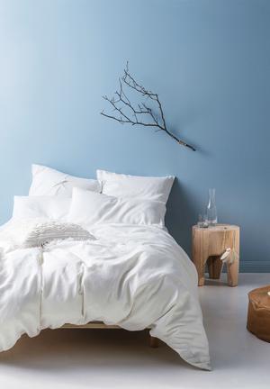 Linen House Nime Duvet Cover Bedding Stone-washed & Pre-shrunk Linen