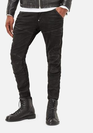 G-Star RAW 5620 3D Super Slim Jeans Black