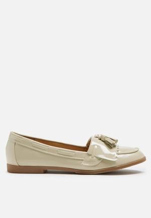 Daisy Street Loafer Pumps & Flats Nude