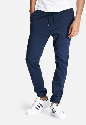 Basicthread Blaze 2 Slim Fit Jogger Pants & Chinos Navy