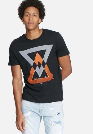 Jack & Jones CORE Barcelona Regular Fit Tee T-Shirts & Vests Black