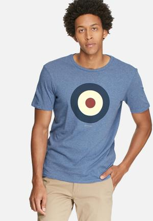 Ben Sherman Target Regular Fit Tee T-Shirts & Vests Blue
