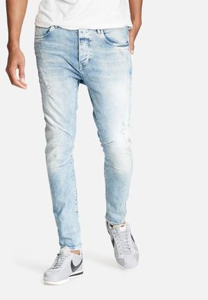 Jack & Jones Jeans Intelligence Luke Anti-fit Jeans Blue