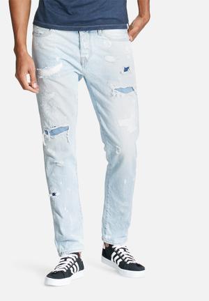 Jack & Jones Jeans Intelligence Erik Icon Anti Fit Jeans Blue