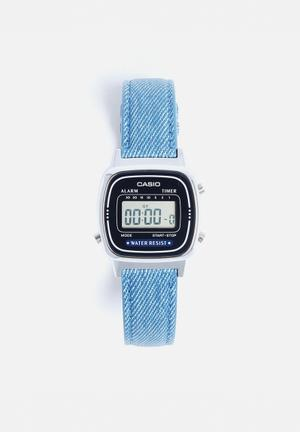 Casio Digital Wrist Watch Blue