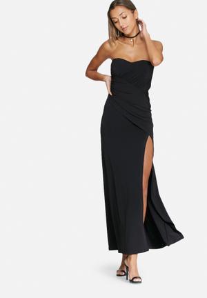 Dailyfriday Boobtube Maxi Dress Occasion Black
