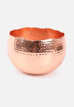 Temerity Jones Copper Planter Accessories Copper Coated Aluminium