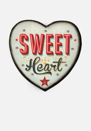 Temerity Jones Carnival Light - Heart Accessories Metal