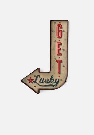 Temerity Jones Carnival Light - Get Lucky Accessories Metal