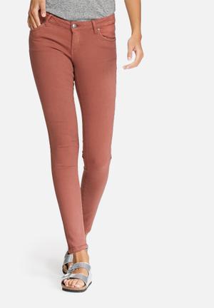 Vero Moda Five Slim Jeans Brick