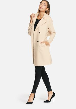 Vero Moda Anne Trench Coat Cream