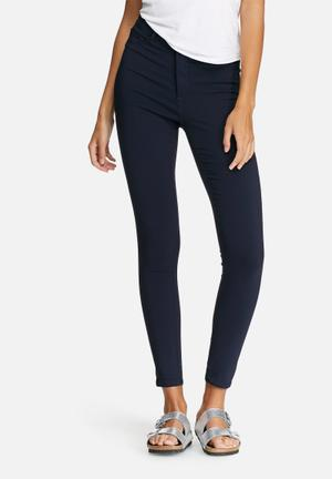Pieces Highskin Wear Jeggings Jeans Navy