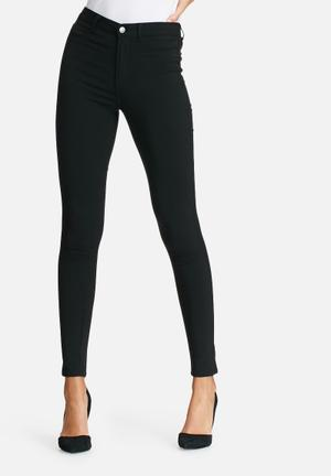 Pieces Highskin Wear Jeggings Jeans Black