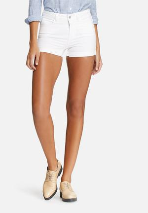 Pieces Just Jute Shorts White