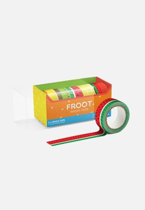 Mustard  Froot Washi Tape Gifting & Stationery