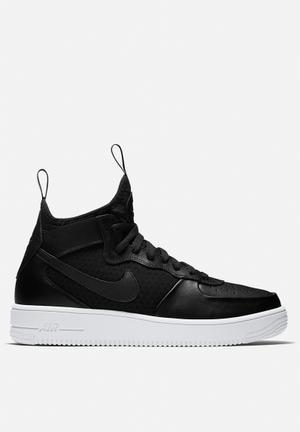 Nike AF1 Ultraforce Mid Sneakers Black / Black / White