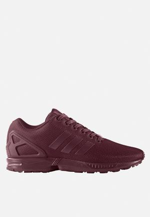 Adidas Originals ZX Flux Sneakers Maroon / White / Core Black