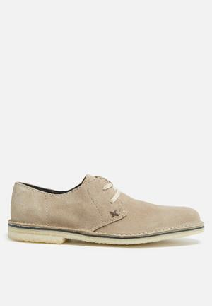 Grasshoppers Desert Formal Shoes Taupe