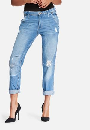 GUESS Inkwell Relaxed Fit Jeans Blue
