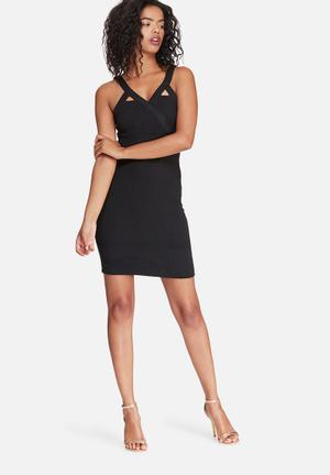 Noisy May Night Dress Formal Black