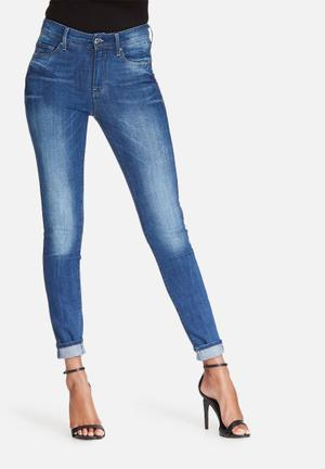 G-Star RAW 3301 Ultra High Skinny Jeans Blue