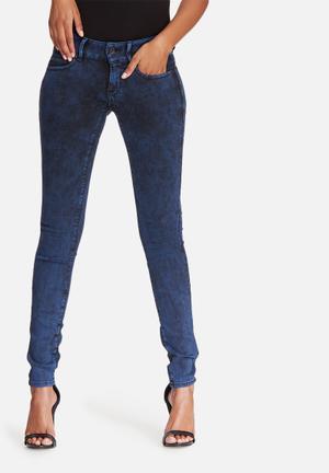 G-Star RAW Midge Cody Mid Skinny Jeans Blue