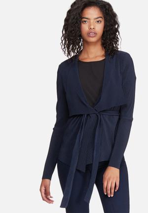 Vero Moda Lisa Cardigan Knitwear Navy
