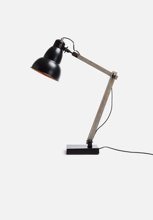 Sixth Floor KI Table Lamp Lighting Metal & Wood