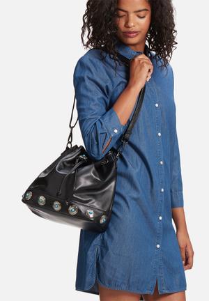 Glamorous Bucket Bag Black