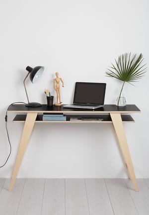 Hemma Duo Desk Wood
