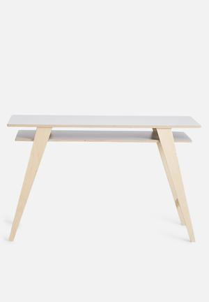 Hemma Duo Desk Wood