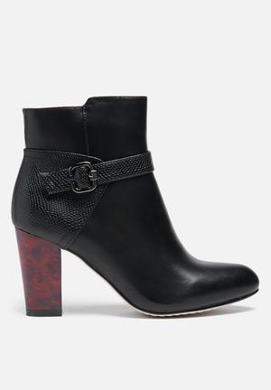 Glamorous Marion Strap Boot Black