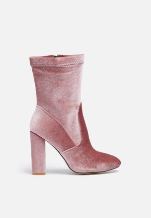 Glamorous Valerie Mid Boot Pink