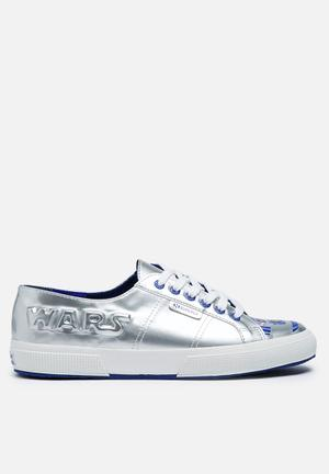 SUPERGA Superga X Star Wars 2750 R2D2 Sneakers Silver