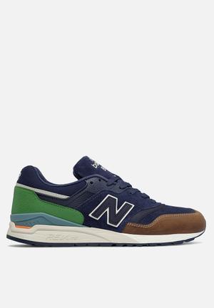 New Balance  ML997HNA Sneakers Navy, Tan & Green
