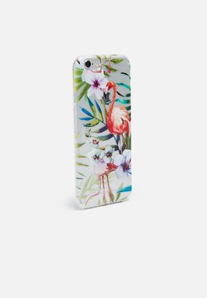 Hey Casey Flamingo Lingo - IPhone & Samsung Cover Clear, White, Green, Orange & Purple
