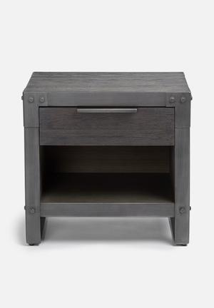 Sixth Floor Factory Night Stand Desks & Tables Grey Brush