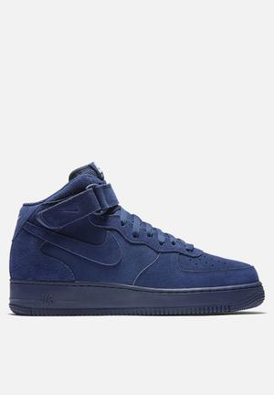 Nike Air Force 1 '07 Mid Sneakers Binary Blue / Binary Blue