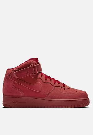 Nike Air Force 1 '07 Mid Sneakers Gym Red / Gym Red