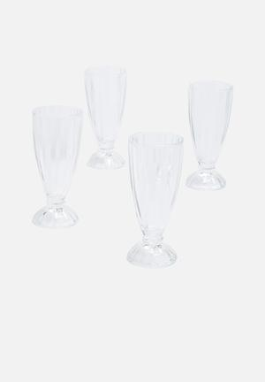 Temerity Jones Milk Shake Glasses Drinkware & Mugs Glass