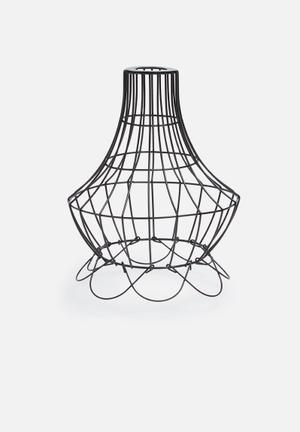 Temerity Jones Elegant Wire Lamp Shade Lighting Metal